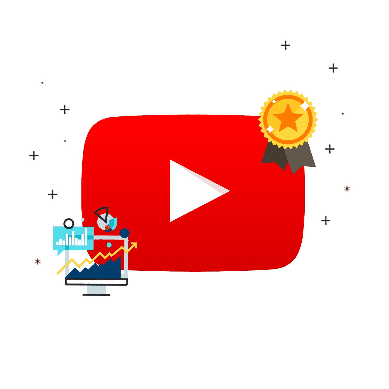 Subskrypcje, lajki, wyświetlenia YouTube